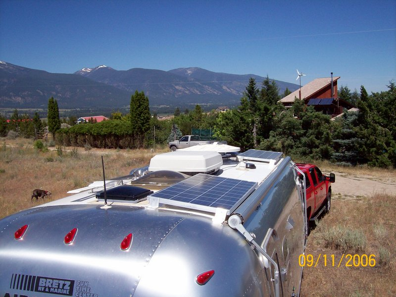 solar electric power for your RV or boat