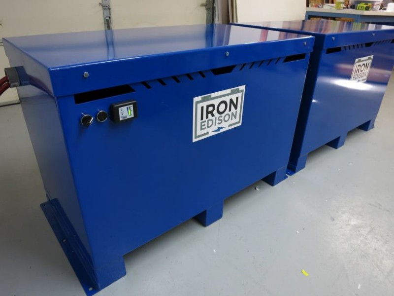 Iron Edison Batteries for Solar Electric Systems