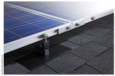 Zep solar module mounting racks